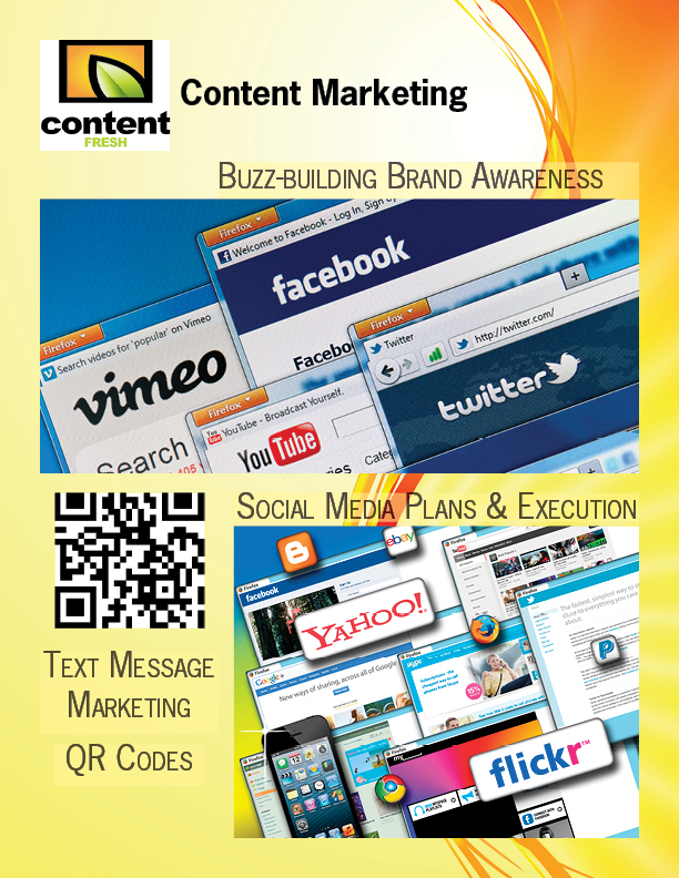Social Media Marketing Text Message Marketing QR Codes